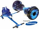 Monster Blue Galaxy with Blue Galaxy Kart By HOVERBOARD<sup>®</sup>