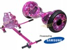 Monster Pink Galaxy with Pink Galaxy Kart By HOVERBOARD<sup>®</sup>