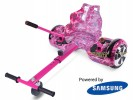 Fly Plus Pink Galaxy with Pink Galaxy Hoverkart