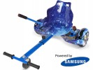 Fly Plus Blue Galaxy with Blue Galaxy Hoverkart