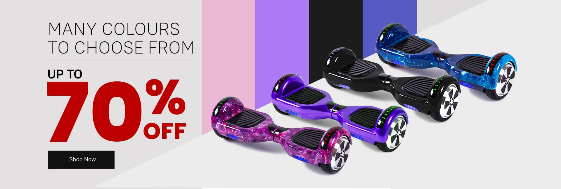 Best Hoverboard colors and designs 70% off